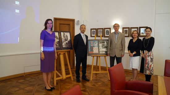 Shanghai Library Delegation Visits the Austrian National Library and the Sofia City Library
